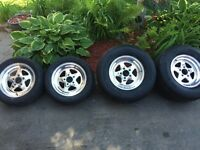 MINT WELD PRO STAR RIMS, FRONT AND REARS!!!!!!