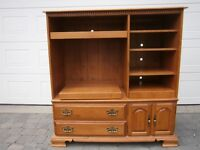 TV CABINET/ ENTERTAINMENT UNIT -  MADE BY ROXTON