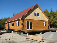 Log Home Builder & Specialists