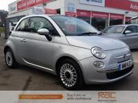 FIAT 500 LOUNGE, Silver, Manual, Petrol, 2011