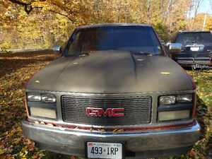 1989 GMC Stepside Pickup with cowl induction hood for best offer