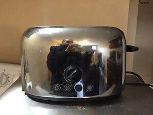 Stainless Steel toaster for $10.00 or trade offers accepted