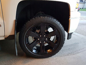 22 inch Chevy Rims and Tires