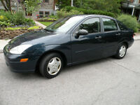 2001 Ford Focus Sedan , Low Mailage !