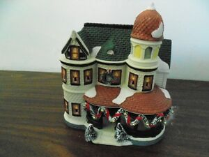CHRISTMAS VILLAGE ORNAMENTS