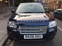 Land rover Freelander hse td4 Auto Diesel 08REG full service history and all previous MOT