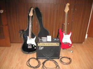 Two Guitars + Marshall Amp