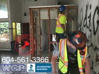 QUICK, EFFICIENT, COST EFFECTIVE RESIDENTIAL DEMOLITION SERVICES