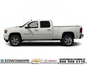 2013 GMC Sierra 2500HD Denali-Leather-Nav-Sunroof-Cover  - Certi