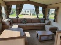 Luxury Static caravan holiday home Par Sands Cornwall near Fowey and Charlestown