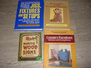 4 Woodworking Books
