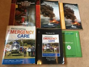 Firefighter Education and Training Program Books