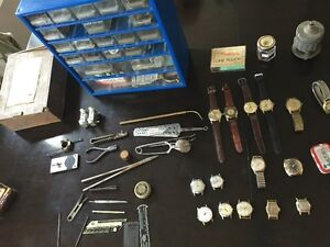 Watchmaking Tools - 30+ Swiss Mechanical Watches