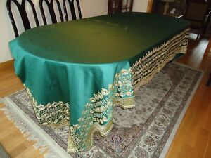 Beautifully Embroidered Dining Table Covers West Island Greater Montréal image 2