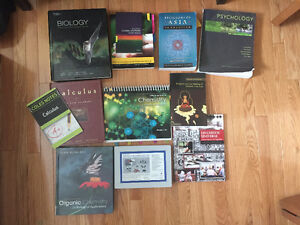 USask First Year Textbooks