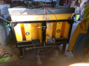 Tailgate Sander,with three point hitc attachment,$2250.00