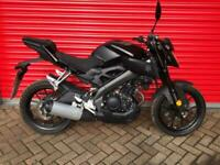 2017 YAMAHA MT 125 ABS LEARNER LEGAL CBT DELIEVRY AVAILABLE ONLY 614 MILES