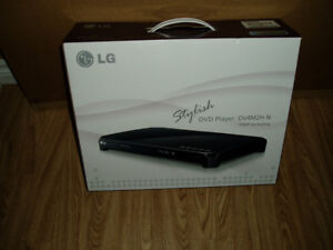 lg dvd/cd player. new condition in box