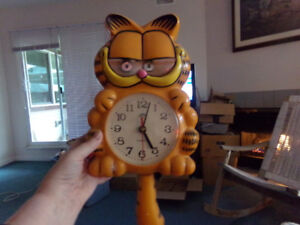 GARFIELD CLOCK