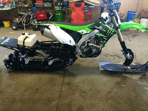 KXF450 WITH TIMBER SLED - NEED GONE