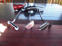 Putter Odyssey Prototype Tour Series / TaylorMade Spider Blade