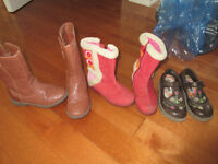 Girls shoes size 9-11, prices in the description