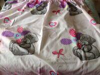"""""""Tatty Teddy"""" curtains"""