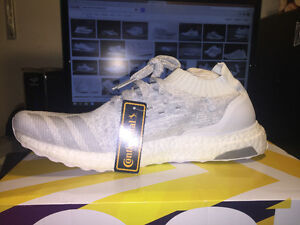 ADIDAS ULTRABOOST UNCAGED LTD TRIPLE WHITE