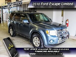 2010 Ford Escape Limited  - $162.12 B/W