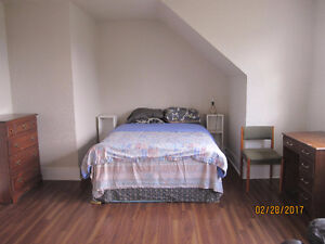 Furnished room available June 28th, weekly rent