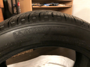Michelin All Season Tires. 225/45R17. Less than a year old.