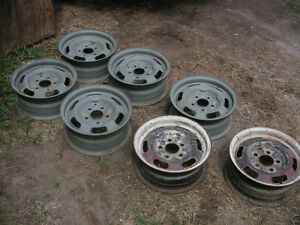 Pontiac GTO Rally 1 wheels with trim ring & cap $150 ea Peterborough Peterborough Area image 1