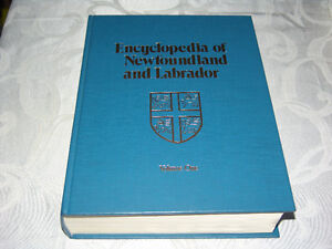 Encyclopedia of Newfoundland and Labrador Sign by Joey Smallwood