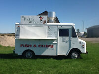 The Paddy Wagon Chip Truck