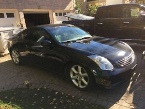 2006 Infiniti G35 coupe  *Safety+E-test