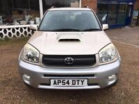 2004 TOYOTA RAV4 2.0 D-4D-LAST SERVICE 83296K - CAMBELT CHANGED 59141 -2FKEEPERS
