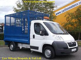 2008/ 58 Citroen Relay 35Hdi L2 Mwb Caged Dropside+ T/Lift Low mileage 39k