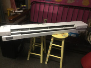 Garrison Electric Baseboard Heaters ( built in thermostat)  4'