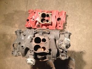 Gm cast iron intakes