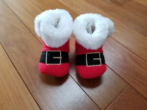 Christmas booties/slippers size 3/4 toddler