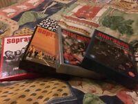 Sopranos box sets for sale series 2, 3, 4, 5