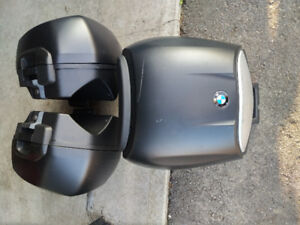 F800GT Side cases (saddlebags) and 28L top case