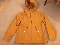 New Mens yellow lightweight jacket GAP size L
