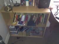 Large Bookshelf w glass doors