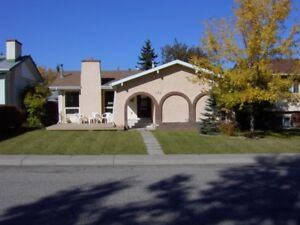 Available House for rent, 5 bedroom, garage, SW Calgary