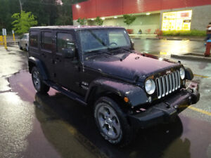 Transfer de location Jeep Wrangler Sahara unlimited