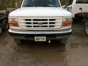 1996 Ford F-350 Dualy Flatbed(PARTS TRUCK ONLY)