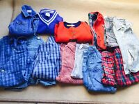 Bundle of boys clothes 12-24 mth