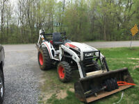 Bobcat CT235 loader and backhoe 35 hp 4x4  hydrostatic 500 hours
