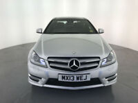 2013 MERCEDES-BENZ C220 AMG SPORT CDI DIESEL COUPE SERVICE HISTORY FINANCE PX